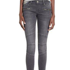 1822 Denim zip detail super skinny jeans Aberdeen